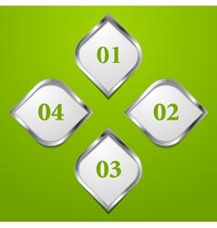 modern tech design template vector image vector image