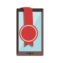 Smartphone portable device vector