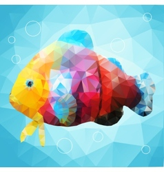Abstract decorative fish vector