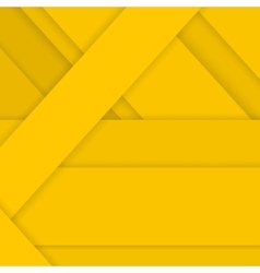 Yellow background in material design style vector