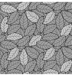 abstract foliage leaf seamless background vector image vector image