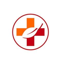 Medical logo icon circle vector