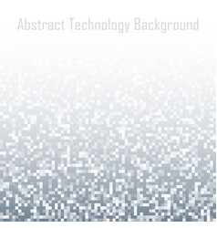 Pixel abstract technology gradient background vector