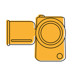 Video camera icon image vector