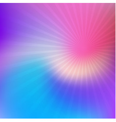 abstract blur with starburst vector image