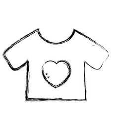 Figure baby t-shirt and textile clothes vector