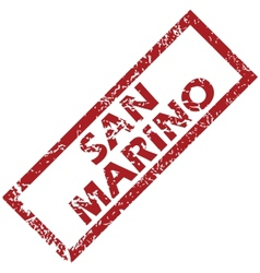 New san marino rubber stamp vector