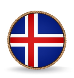 Iceland seal vector
