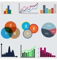 Infographic Elements business diagrams and vector image