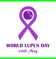 World lupus day may vector