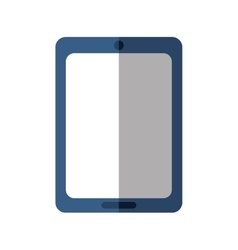 Tablet gadget technology icon graphic vector