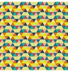 Seamless geometric background mosaic abstract vector