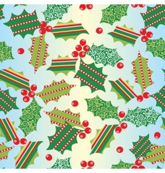 Seamless xmas background vector
