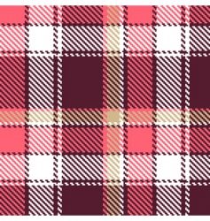 seamless tartan vector image vector image