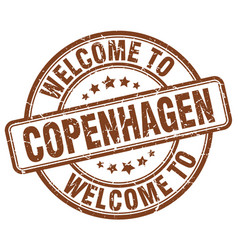 Welcome to copenhagen vector