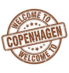 Welcome to copenhagen vector