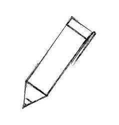 Isolated cute pen vector