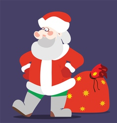 Santaclaus color vector