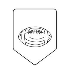American football design vector
