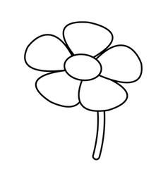 flower spring flora botanical plant image vector image vector image
