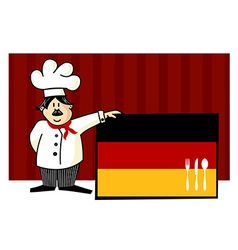 German cuisine vector