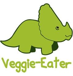 Veggie eater vector
