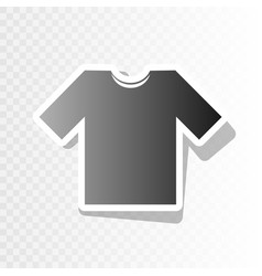 T-shirt sign   new year vector