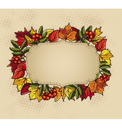 Thanksgiving baner vector image