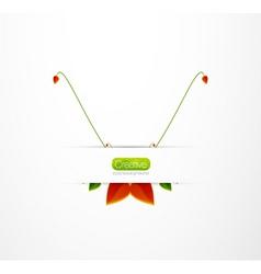 creative logo vector image