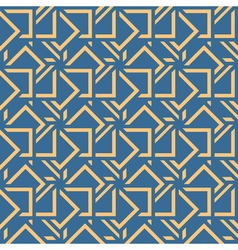 Abstract seamless pattern Geometric shape triangle vector image