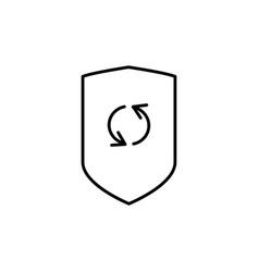 security update ocon vector image vector image