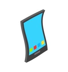 Smartphone icon isometric 3d style vector