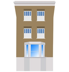 Victorian house vector image