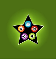 Bingo star vector