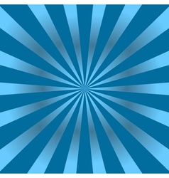 Blue rays poster star vector