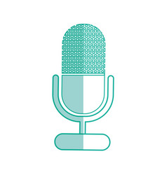microphone sound record vector image vector image