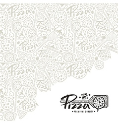 Pizza cover for boxes vector image vector image