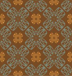 seamless retro ornament vector image