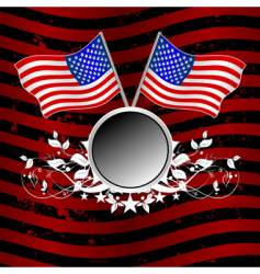usa background vector image