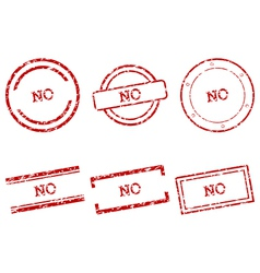 No stamps vector image