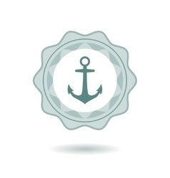 Anchor symbol vector image