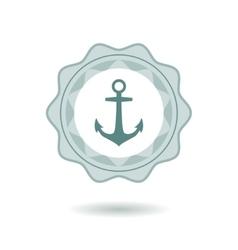 Anchor symbol vector image
