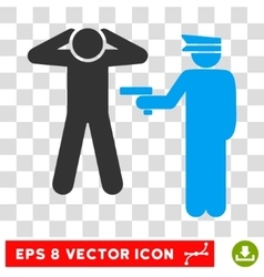 Arrest eps icon vector