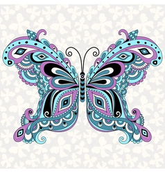fantasy vintage butterfly vector image