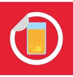 Drink menu beverage icon vector
