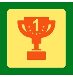 First prize icon from award buttons overcolor set vector