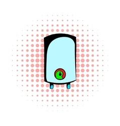 Boiler comics icon vector