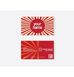 Object business card vector