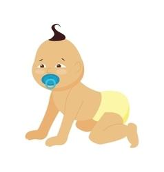 Baby little kid vector image vector image