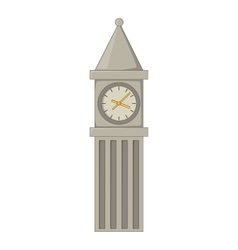 Big ben in london icon cartoon style vector